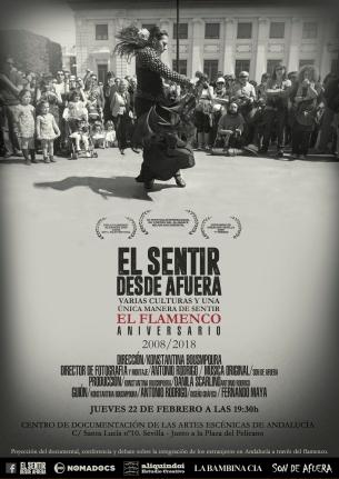 CARTEL SENTIR DESDE AFUERA 22 FEBRERO